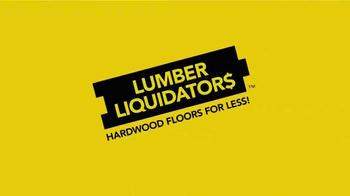 Lumber Liquidators TV Spot, 'Engineered Bamboo and Prefinished Hardwood' - Thumbnail 3