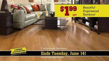 Lumber Liquidators TV Spot, 'Engineered Bamboo and Prefinished Hardwood' - Thumbnail 5