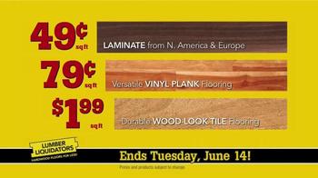 Lumber Liquidators TV Spot, 'Engineered Bamboo and Prefinished Hardwood' - Thumbnail 7