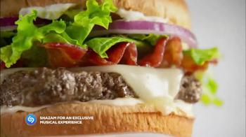Wendy's Bacon Mozzarella Burger TV Spot, 'Shazam the Experience' - Thumbnail 6