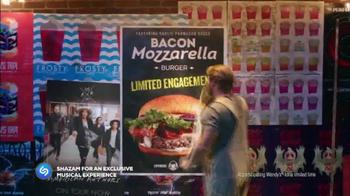 Wendy's Bacon Mozzarella Burger TV Spot, 'Shazam the Experience' - Thumbnail 7