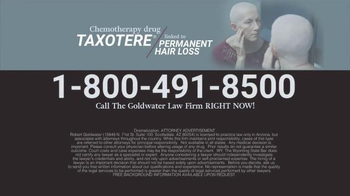Goldwater Law Firm TV Spot, 'Chemotherapy Hair Loss' - Thumbnail 5