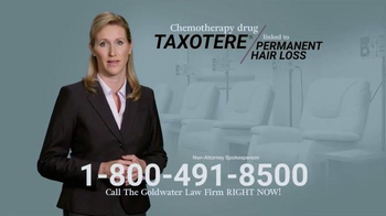 Goldwater Law Firm TV Spot, 'Chemotherapy Hair Loss' - Thumbnail 3