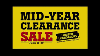 Lumber Liquidators Mid-Year Clearance Sale TV Spot, 'Incredible Deals' - Thumbnail 7