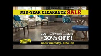 Lumber Liquidators Mid-Year Clearance Sale TV Spot, 'Incredible Deals' - Thumbnail 1