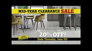 Lumber Liquidators Mid-Year Clearance Sale TV Spot, 'Incredible Deals' - Thumbnail 2