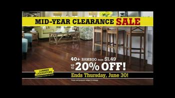 Lumber Liquidators Mid-Year Clearance Sale TV Spot, 'Incredible Deals' - Thumbnail 3