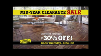 Lumber Liquidators Mid-Year Clearance Sale TV Spot, 'Incredible Deals' - Thumbnail 5