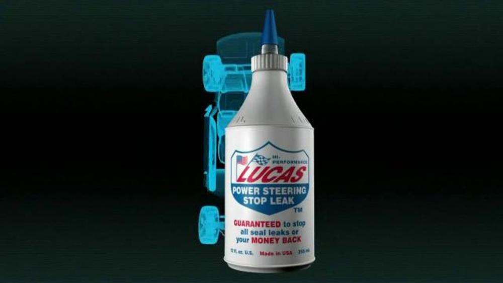 Lucas Oil Power Steering Stop Leak TV Commercial, 'Stops Seal Leaks'