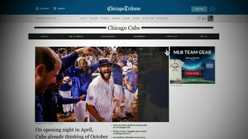 Chicago Tribune Sports Plus TV Spot, 'We Are: Cubs' - 5 commercial airings