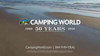 Camping World Summer Sell-Off TV Spot, 'Travel Trailers and Accessories' - Thumbnail 7