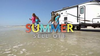 Camping World Summer Sell-Off TV Spot, 'Travel Trailers and Accessories'