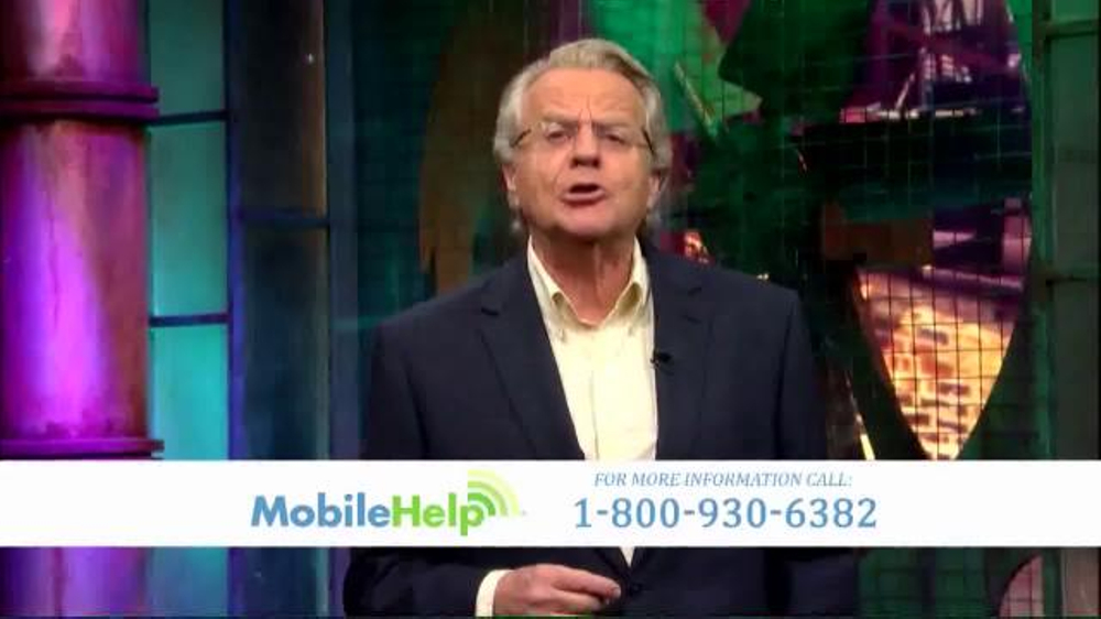 MobileHelp TV Commercial, 'Jerry Springer: Never Be Alone in an Emergency'