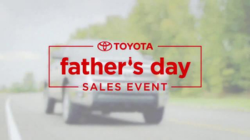 Toyota Father's Day Sales Event TV Spot, 'Let's Go Dad' - Thumbnail 4