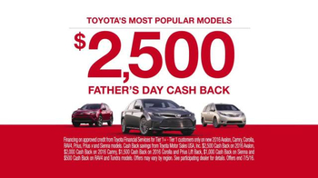 Toyota Father's Day Sales Event TV Spot, 'Let's Go Dad' - Thumbnail 7