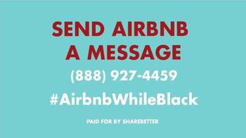 ShareBetter TV Spot, '#AirbnbWhileBlack' - Thumbnail 10