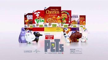 General Mills TV Spot, 'The Secret Life of Pets: Key Chains'