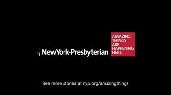 New York Presbyterian Hospital TV Spot, 'Nancy Jarecki: Amazing Things' - Thumbnail 6