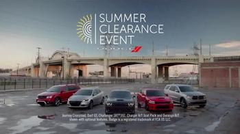 Dodge Summer Clearance Event TV Spot, 'Technology & Excitement' - Thumbnail 2