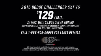Dodge Summer Clearance Event TV Spot, 'Technology & Excitement' - Thumbnail 4