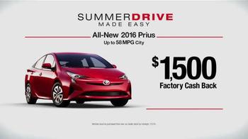 Toyota Summer Drive Sales Event TV Spot, 'Love' - Thumbnail 5