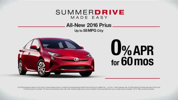 Toyota Summer Drive Sales Event TV Spot, 'Love' - Thumbnail 6