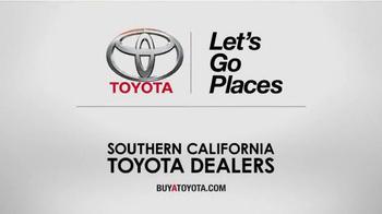 Toyota Summer Drive Sales Event TV Spot, 'Easy' - Thumbnail 9