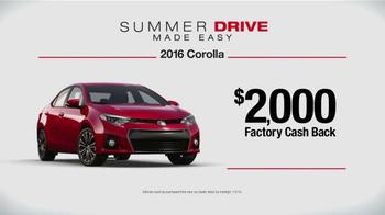Toyota Summer Drive Sales Event TV Spot, 'Easy' - Thumbnail 6