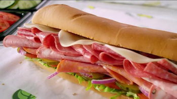 Subway Italian Hero TV Spot, 'Piled High' - Thumbnail 1
