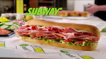 Subway Italian Hero TV Spot, 'Piled High' - Thumbnail 10