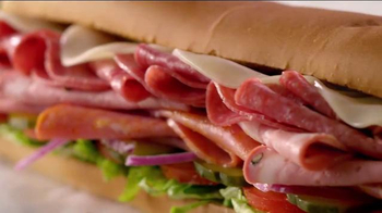 Subway Italian Hero TV Spot, 'Piled High' - Thumbnail 4