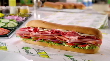 Subway Italian Hero TV Spot, 'Piled High' - Thumbnail 9