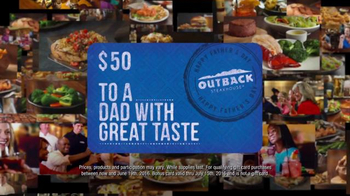 Outback Steakhouse TV Spot, 'Are You Dad Enough?' - Thumbnail 6