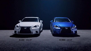 2016 Lexus IS Turbo TV Spot, 'Punch-It' - 1398 commercial airings