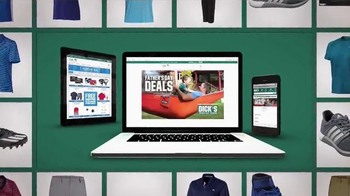 Dick's Sporting Goods Father's Day Deals TV Spot, 'Apparel' - Thumbnail 5