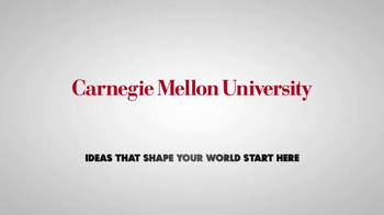 Carnegie Mellon University TV Spot,'Ideas That Shape Your World Start Here' - Thumbnail 9