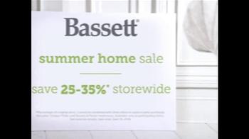 Bassett Summer Home Sale TV Spot, 'Family Room' - Thumbnail 6