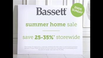 Bassett Summer Home Sale TV Spot, 'Family Room' - Thumbnail 8