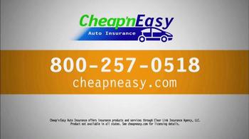Cheap'nEasy Auto Insurance TV Spot, 'On the Spot Coverage' - Thumbnail 6