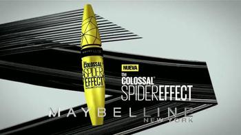 Maybelline New York Colossal Spider Effect TV Spot, 'De moda' [Spanish] - Thumbnail 4