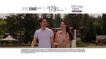 Honda One Tank Trips Sweepstakes TV Spot, 'San Juan Islands: 2016 Civic' - Thumbnail 8