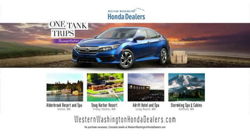 Honda One Tank Trips Sweepstakes TV Spot, 'San Juan Islands: 2016 Civic' - Thumbnail 9