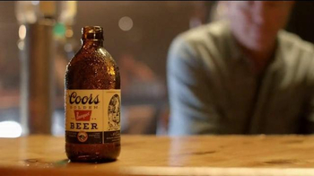 Coors Banquet TV Spot, 'A Piece of History' - 33 commercial airings