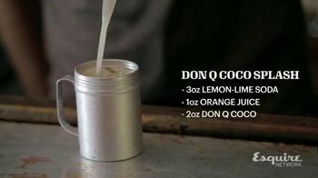 Don Q Coco Rum TV Spot, 'Esquire Network: Don Q Coco Splash' - Thumbnail 5
