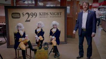 Golden Corral Kids Night TV Spot, 'Three Little Washingtons' - 873 commercial airings
