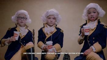 Golden Corral Kids Night TV Spot, 'Three Little Washingtons' - Thumbnail 2