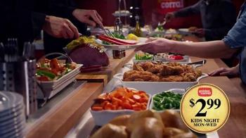 Golden Corral Kids Night TV Spot, 'Three Little Washingtons' - Thumbnail 3