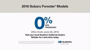 2016 Subaru Forester TV Spot, 'Checking on the Kids' - Thumbnail 7