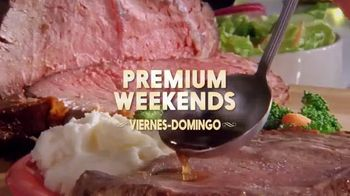 Golden Corral Premium Weekends TV Spot, 'Prime Rib' [Spanish] - 506 commercial airings