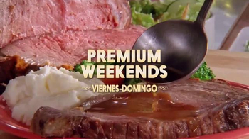 Golden Corral Premium Weekends TV Spot, 'Prime Rib' [Spanish] - Thumbnail 5